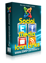 Модуль - Social Media Icon Links